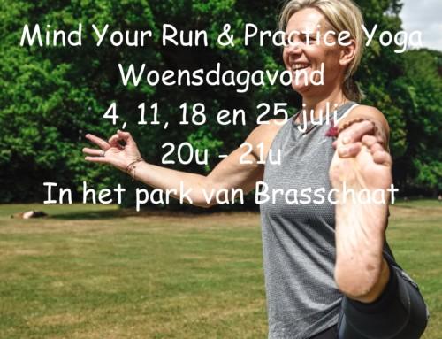 4-weekse zomerreeks 'Mind Your Run & Practice Yoga'