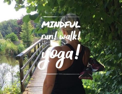 5 Weekse lessenreeks Mindful Run & Yoga